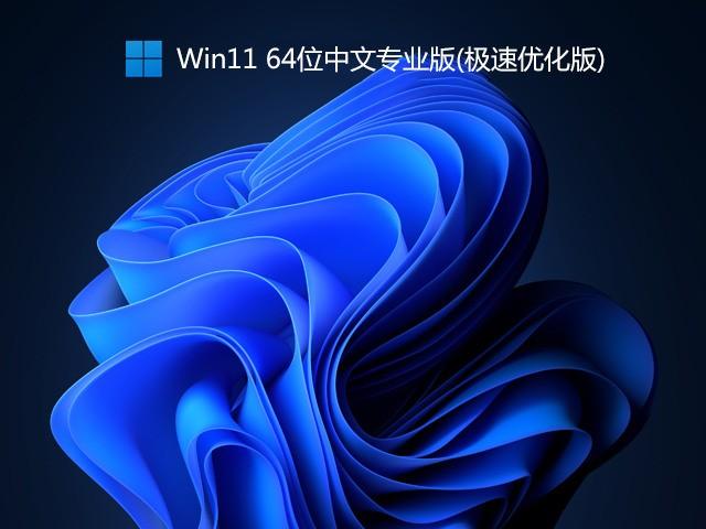 Win11 64位中文专业版V2021(极速优化版)