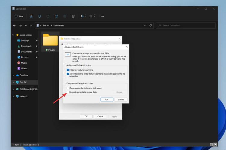 给文件夹添加密码的方法Win11文件夹怎么加密?