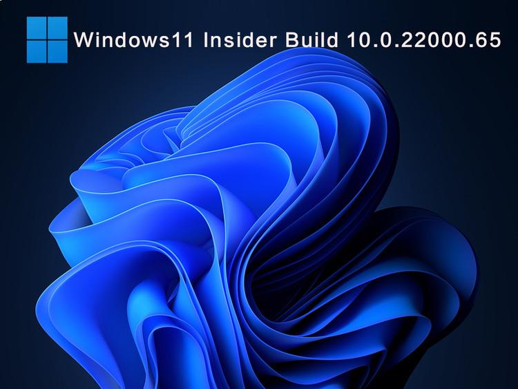 Windows11InsiderBuild 10.0.22000.6KB5004745V2021