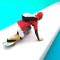 冰上滑板比赛