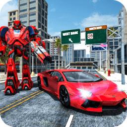 汽车变形机器人游戏