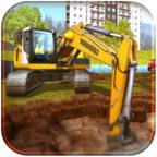 挖掘机模拟器游戏