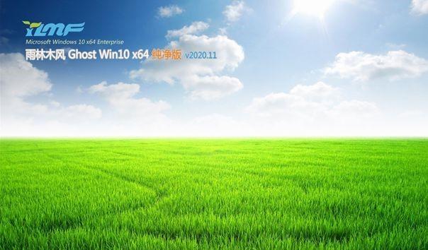 雨林木风-win10(x64位)专业纯净版系统下载v2020.11