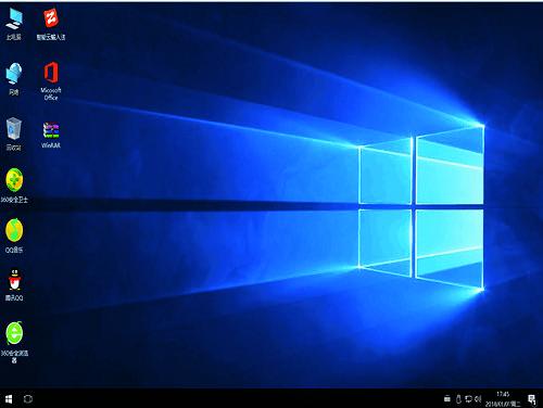 深度启动Ghost win10平板专用精简版系统下载v2021.02