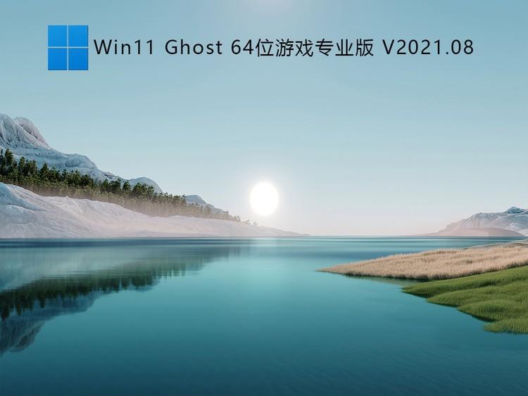 Win11 Ghost 64位游戏专业版 V2021.08